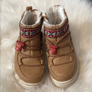 TOMS | boot for girl with tribal print